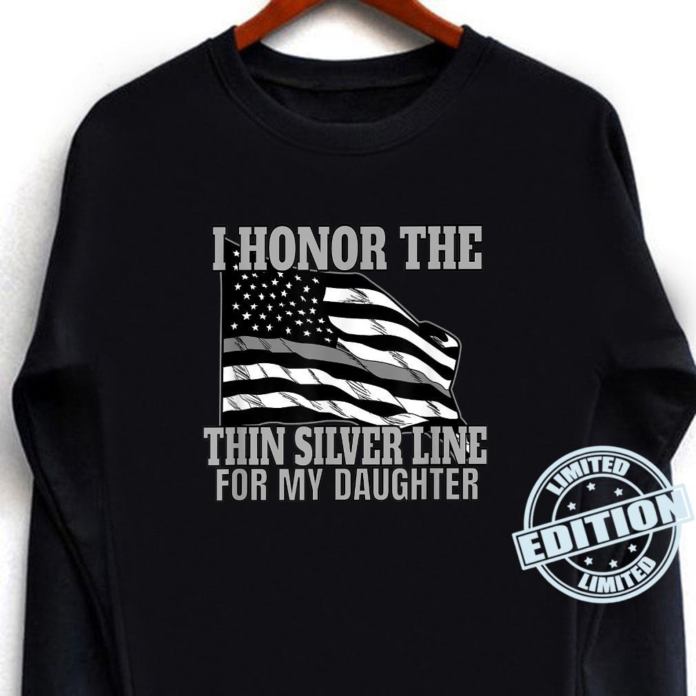 Corrections Officer Mom Dad Correctional Flag Shirt long sleeved