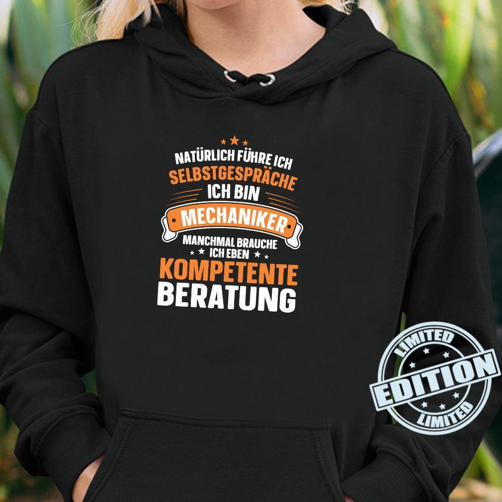 Lustiger Spruch Kompetente Beratung Schrauben Mechaniker Shirt hoodie