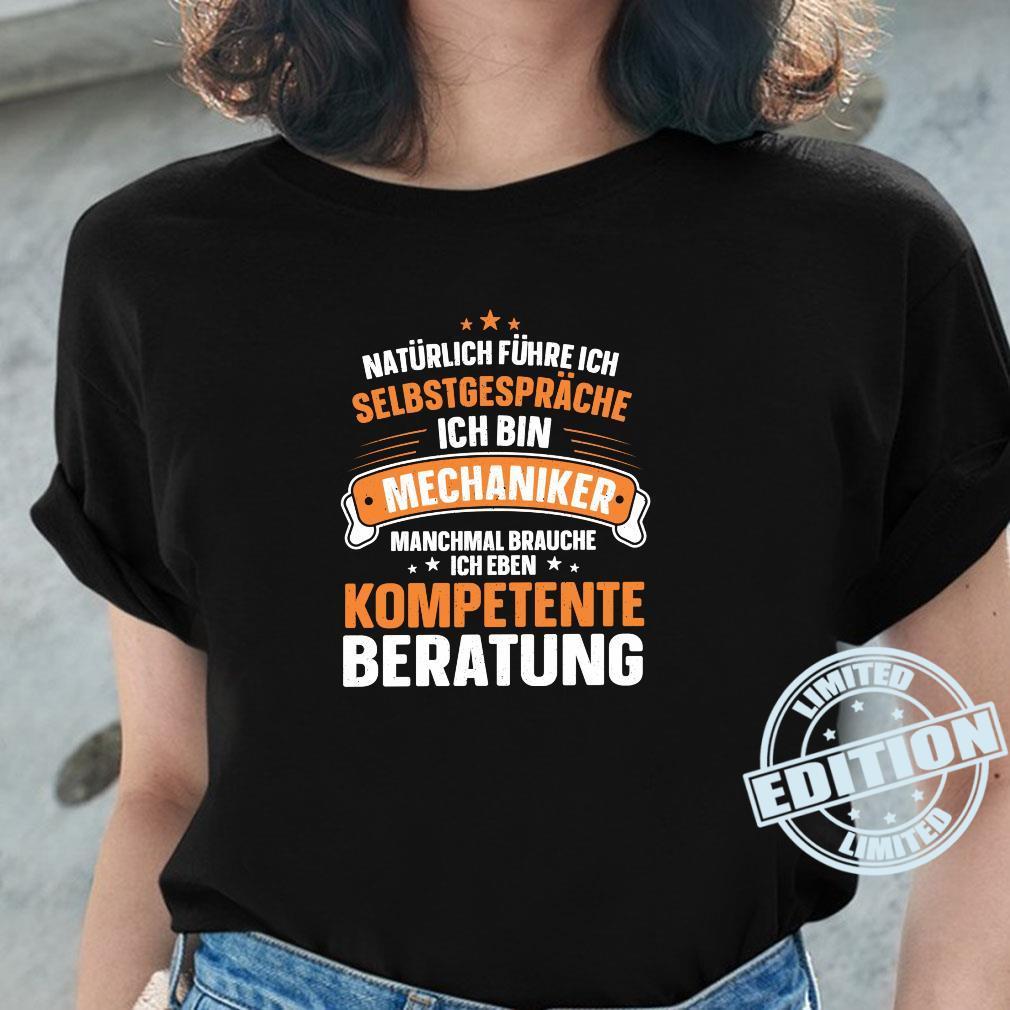 Lustiger Spruch Kompetente Beratung Schrauben Mechaniker Shirt ladies tee