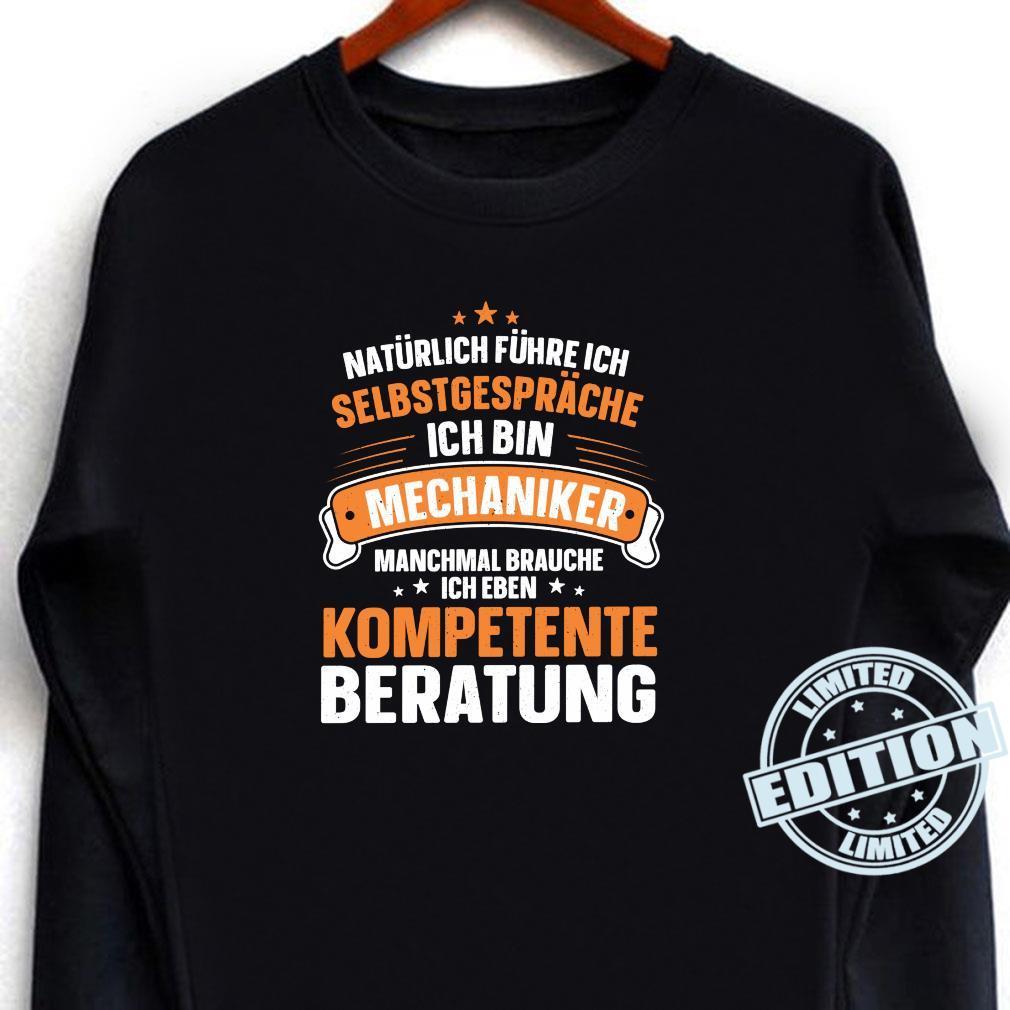 Lustiger Spruch Kompetente Beratung Schrauben Mechaniker Shirt long sleeved