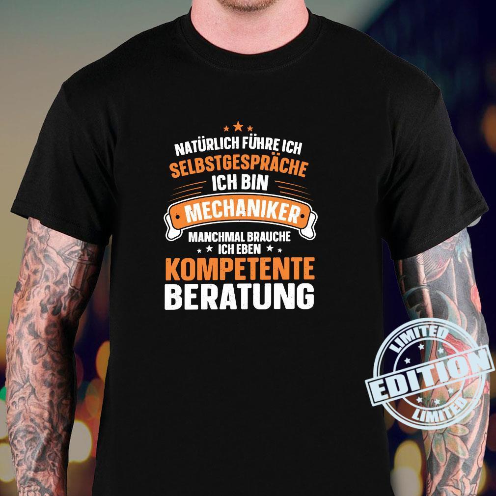 Lustiger Spruch Kompetente Beratung Schrauben Mechaniker Shirt sweater