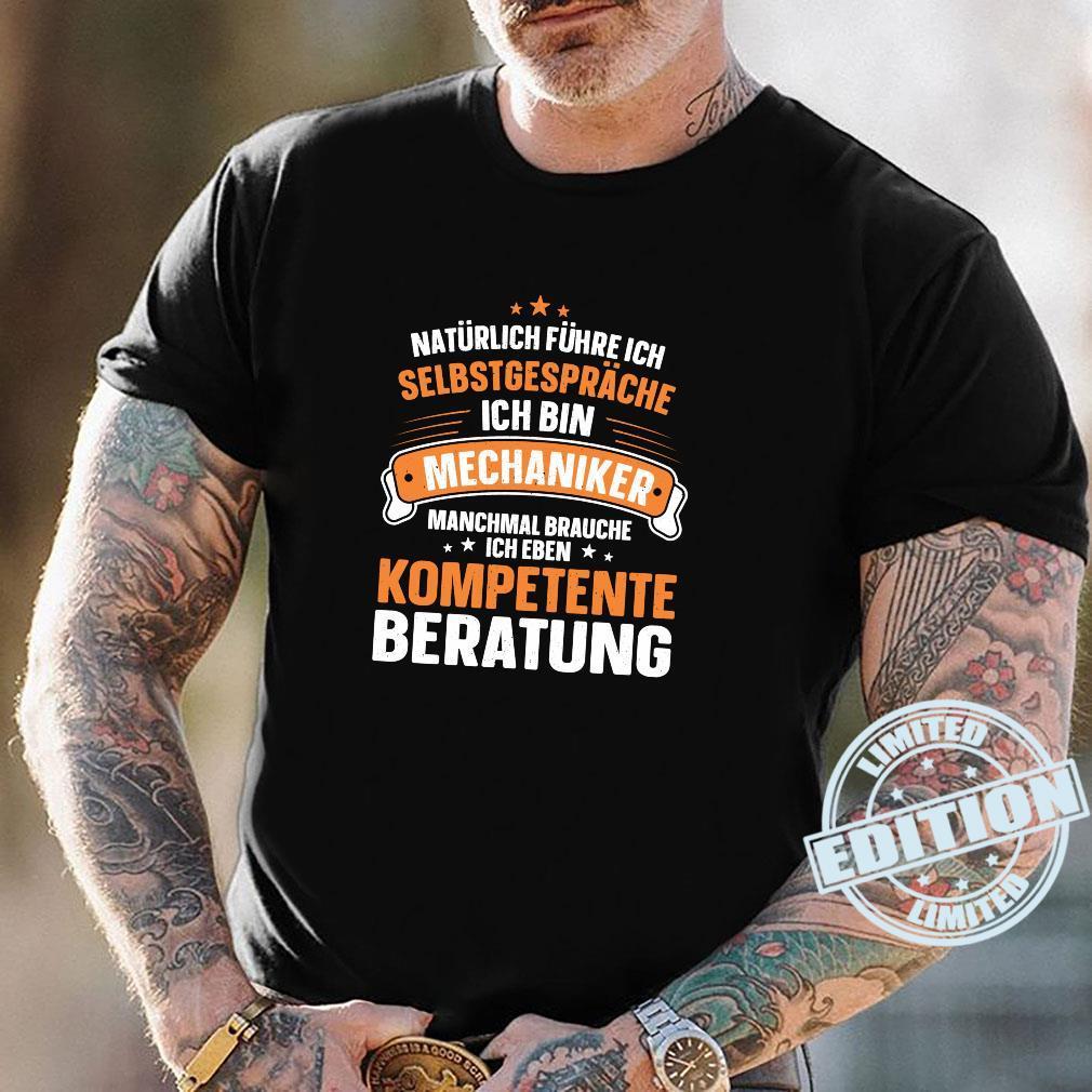 Lustiger Spruch Kompetente Beratung Schrauben Mechaniker Shirt