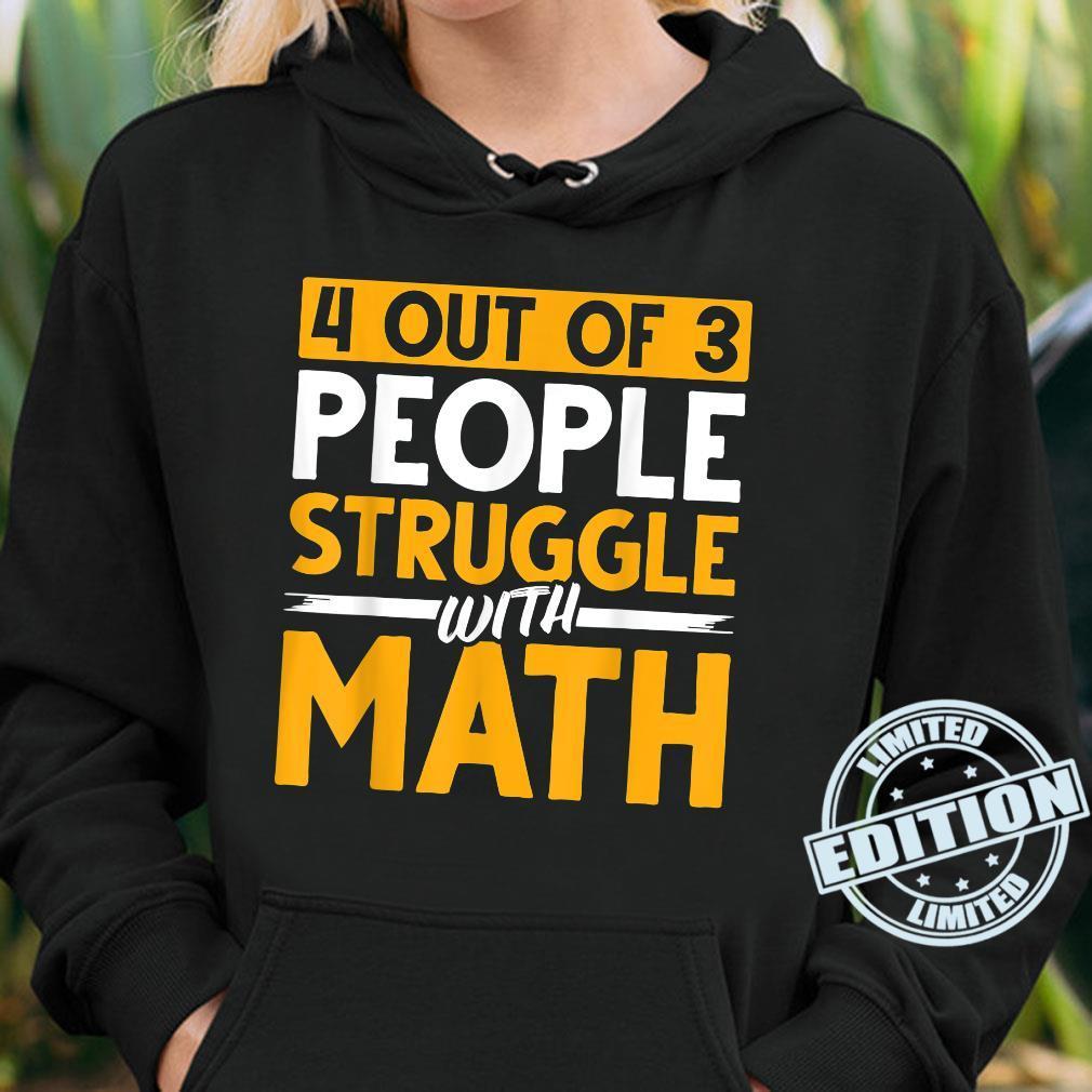 Mathematician Science Math Nerd Calculus Geek Math Shirt hoodie