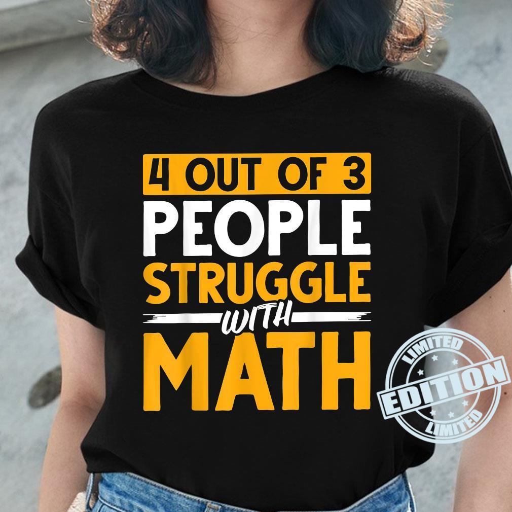 Mathematician Science Math Nerd Calculus Geek Math Shirt ladies tee