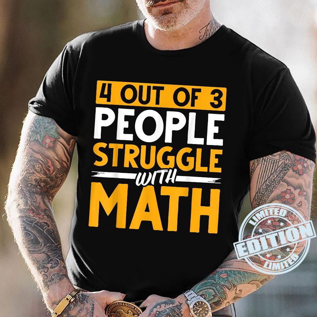 Mathematician Science Math Nerd Calculus Geek Math Shirt