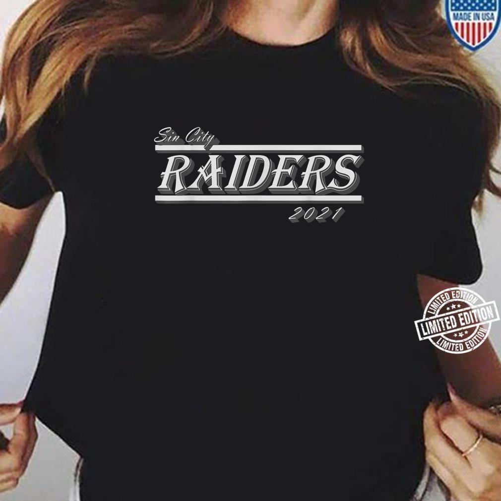 Sin City Raiders T021s Shirt ladies tee