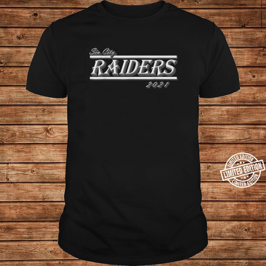 Sin City Raiders T021s Shirt long sleeved