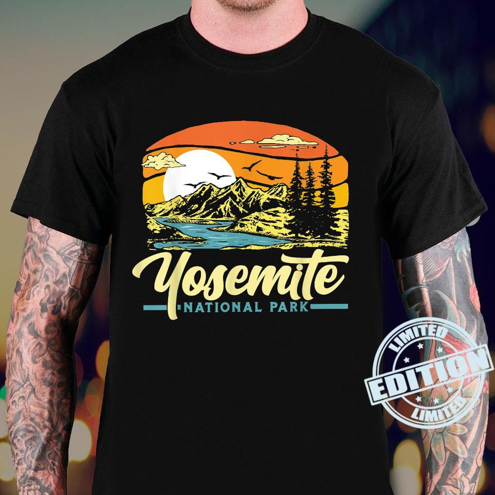 Yosemite National Park Vintage 80s Retro California Sunset Shirt sweater